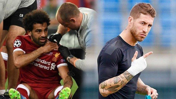Bikin Mohamed Salah Kesakitan, Sergio Ramos Tuai Kecaman Netizen! Siapa Sergio Ramos?