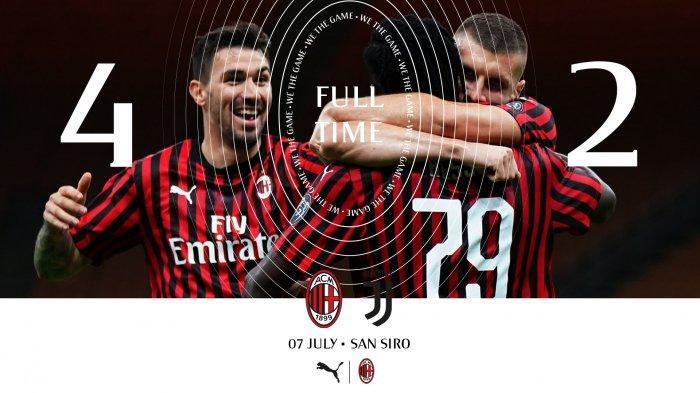Video Gol Dan Highlight Ac Milan Vs Juventus Comeback Epik Milan Cetak 4 Gol Balasan Dalam 18 Menit Tribun Batam