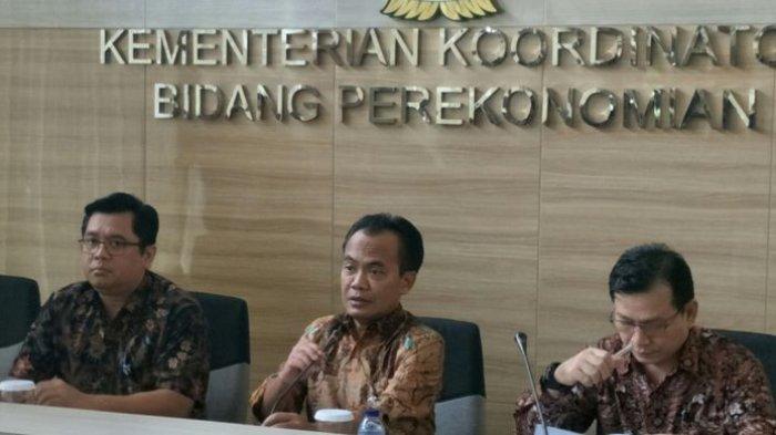 Sesmenko Perekonomian Susiwijono. Sesmenko adalah atasan kepala BP Batam.