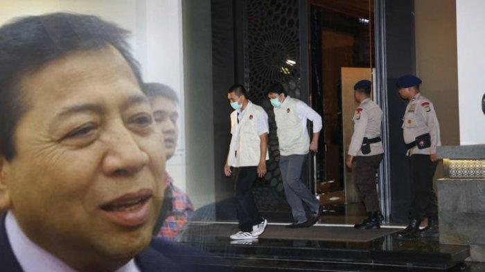 Drama 5 Jam Upaya Penangkapan Setya Novanto Hingga Kamis Dinihari. KPK: Menyerahlah