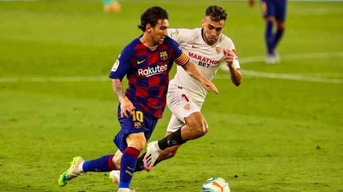 Hasil Liga Spanyol - Barcelona Pesta Gol ke Gawang Alaves, Lionel Messi Cetak Rekor Baru