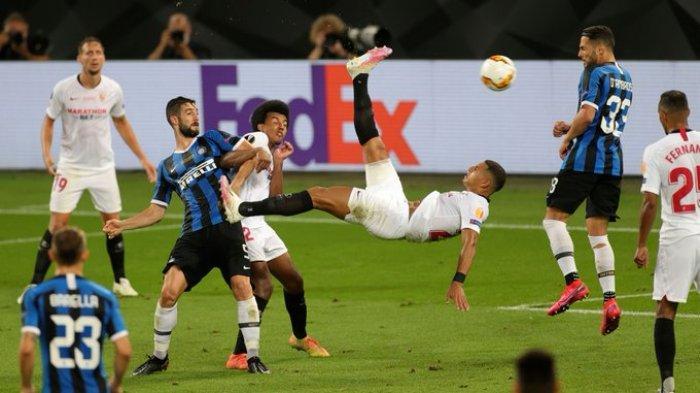 Hasil Final Liga Europa - Kalahkan Inter Milan, Sevilla Rebut Juara Liga Europa Untuk ke-6 Kalinya