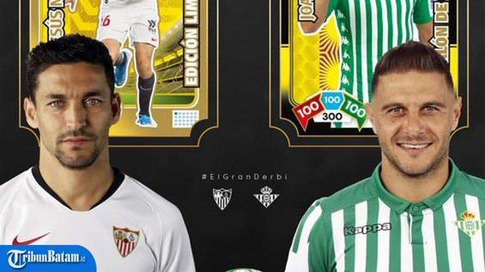 Jadwal Lengkap Liga Spanyol Pekan 28, Malam Ini Sevilla vs Real Betis, Sabtu: Mallorca vs Barcelona