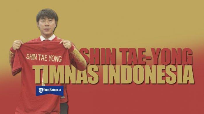 Gelar TC 9-17 Februari 2020, Pelatih Timnas Shin Tae-yong Panggil 34 Pemain Timnas Indonesia Senior