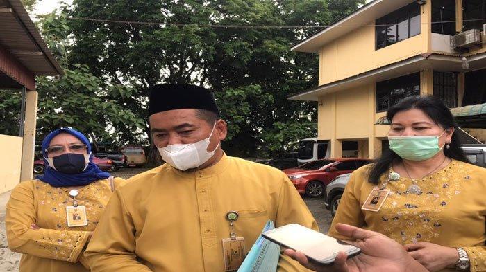 DISNAKER BATAM - Tim Pansus LKPj DPRD Batam sidak ke kantor Disnaker Batam di Kecamatan Sekupang, Jumat (18/6/2021).