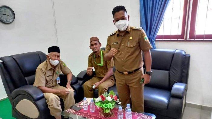 Neko Wesha Pawelloy Sidak Ruangan Sekda Lingga, Minta Pegawai Tiru Sikap Disiplinnya