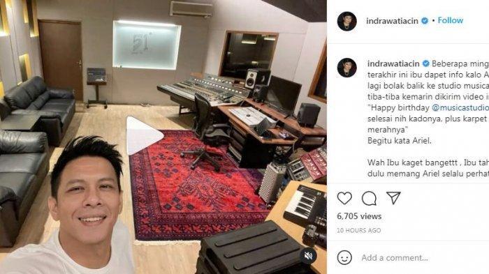 Sikap Ariel Noah Dipuji, Boril Ungkap Alasan Renovasi Studio di Musica Studio