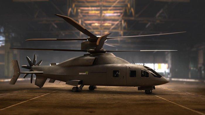 Black Hawk Mulai Ketinggalan, Militer Amerika Pakai Heli Sikorsky Boeing Defiant X: 2x Lebih Cepat