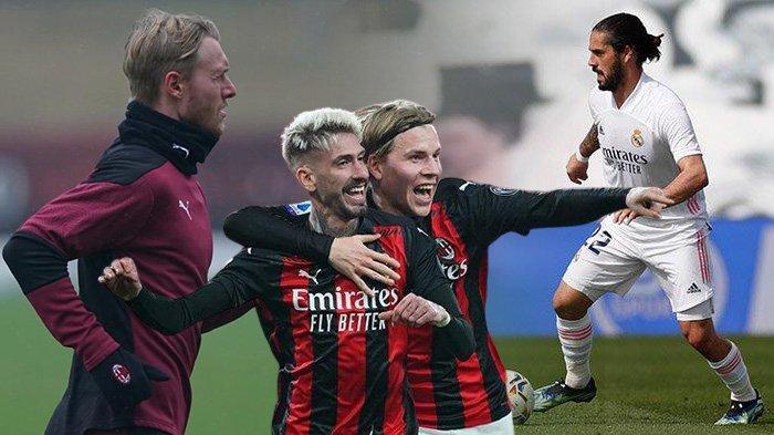 Berita AC Milan - Tak Ada Kontak dengan Isco, Castillejo & Hauge Belum Terjual, Simon Kjaer Kapten?