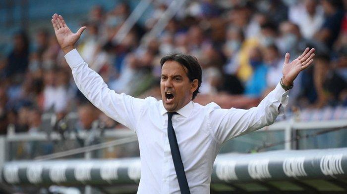 Inter Milan Ditahan Imbang Sampdoria, Simone Inzaghi: Kami Menyesali Hasil Akhirnya Tidak Menang