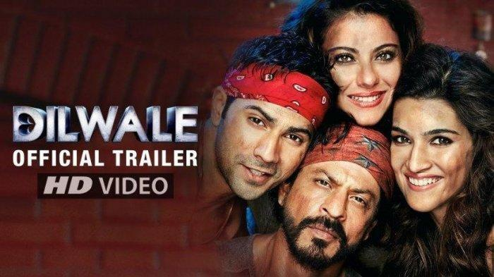 Sinopsis dan Trailer Film Bollywood Dilwale, Minggu (31/5) Pukul 22.00 WIB di ANTV