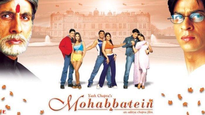 Sinopsis dan Trailer Film  Bollywood Mohabbatein, Senin (1/6) Pukul 14.45 WIB di ANTV