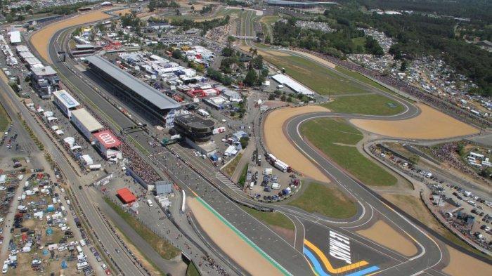 Sirkuit Le Mans yang menjadi lintasan balapan MotoGP Prancis
