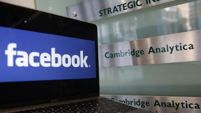 Adakah dari Indonesia? Kominfo Hubungi Facebook Soal Data 50 Juta Pengguna Dicuri untuk Pilpres