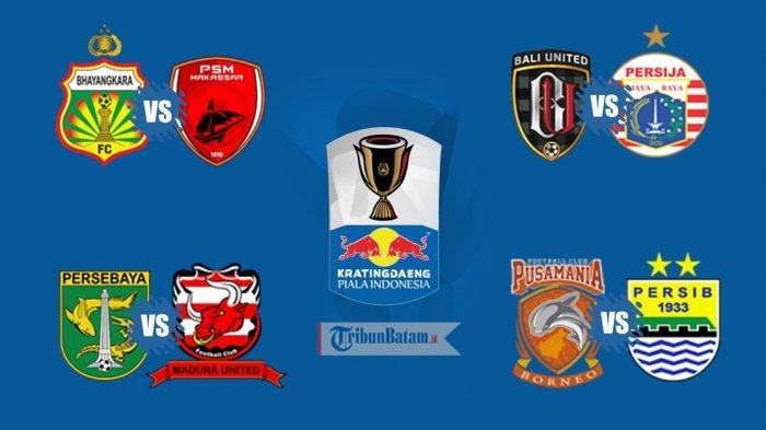Hasil Drawing 8 Besar Piala Indonesia, Mario Gomez Bertemu Persib Bandung, Teco Hadapi Persija