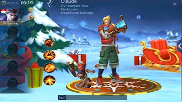 8 Hero Mobile Legends: Bang Bang dengan Skin Spesial Natal, Lihat Cantiknya Eudora