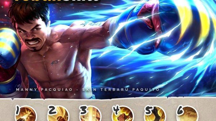 Mobile Legends Hadirkan Skin Petinju Legenda Filipina, Manny Pacquiao, Epic untuk Hero Paquito
