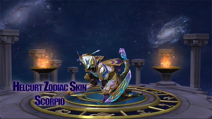 13 Skin Seri Zodiak untuk Hero Mobile Legends, Scorpio (Helcurt) hingga Sagitarius (Irithel)
