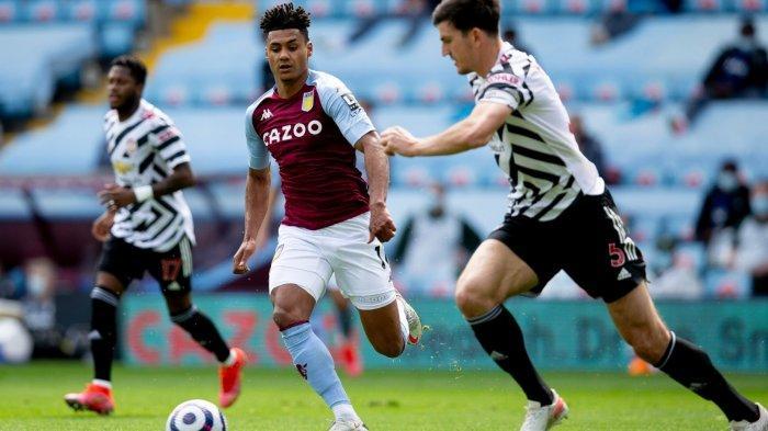 Hasil Liga Inggris - Sukses Comeback, Gol Cavani Tutup Pesta Gol Man United ke Gawang Aston Villa