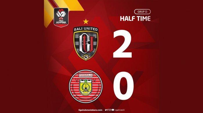Hasil Bali United vs Persiraja Banda Aceh, Babak I Bali United Unggul 2-0, Gol Spasojevic & Pellu
