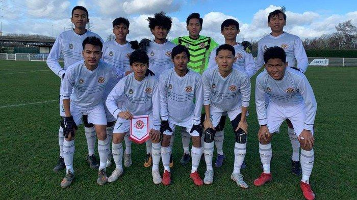 Bagus Kahfi Cetak Brace, Garuda Select Tekuk Huddersfield U18 Tiga Gol Tanpa Balas