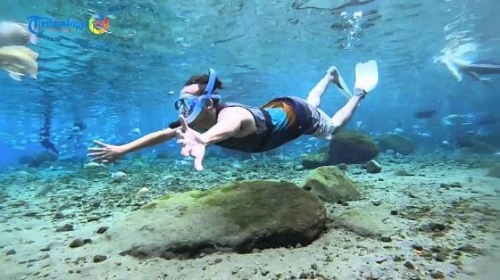Wisata Umbul Ponggok Klaten Manjakan Pecinta Selfie Dalam Air, Pernah Dipuji Jokowi