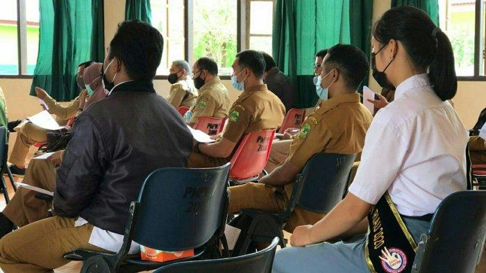 Dinkes PPKB Kabupaten Lingga gelar sosialisasi pendataan keluarga 2021, di Dabo Singkep, Selasa (23/2/2021).