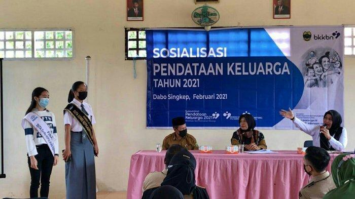 Dinkes Lingga Sosialisasi Pendataan Keluarga 2021, Gandeng BKKBN Kepri