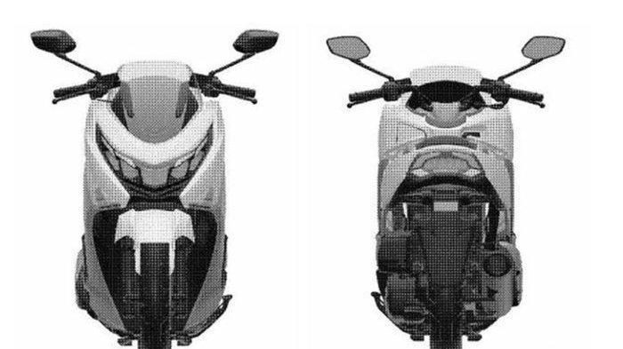 Inikah Big Skutik Suzuki, Penantang NMAX dan PCX?