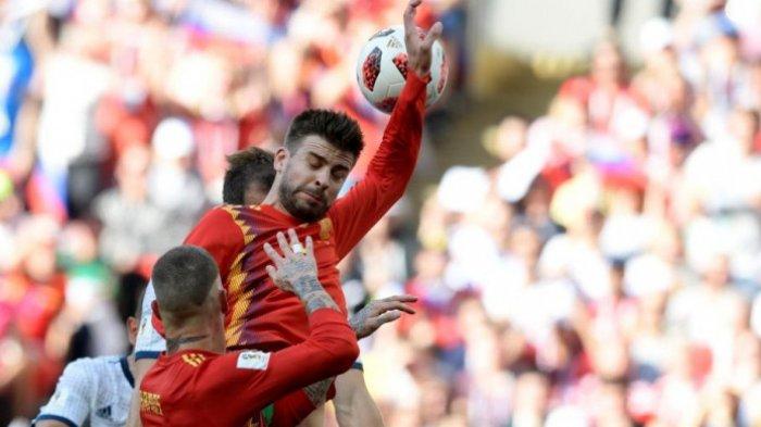 BREAKINGNEWS: Dramatis! Spanyol Tersingkir dari Piala Dunia, Rusia Menang Adu Penalti