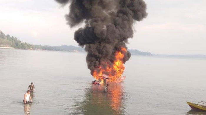 Kronologi Speedboat Penumpang Terbakar, Percikan Api Sambar Bahan Bakar Minyak