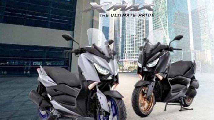 SPESIFIKASI dan Harga Yamaha XMAX, Kini Hadir dengan Warna Baru