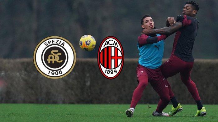 Live Streaming Spezia vs AC Milan Malam Ini, Pukul 02.45 WIB di RCTI, Liga Italia Pekan 22