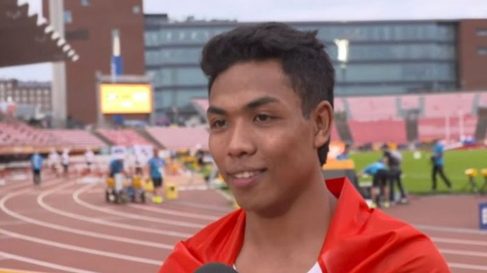 Lalu Muhammad Zohri Sprinter Pertama Indonesia Juara Atletik Dunia. Ini Video Larinya 10,18 Detik