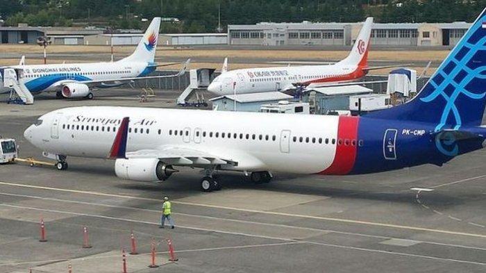 Pesawat Sriwijaya Air yang Hilang Kontak Bawa 59 Penumpang, Ada 5 Anak dan 1 Bayi