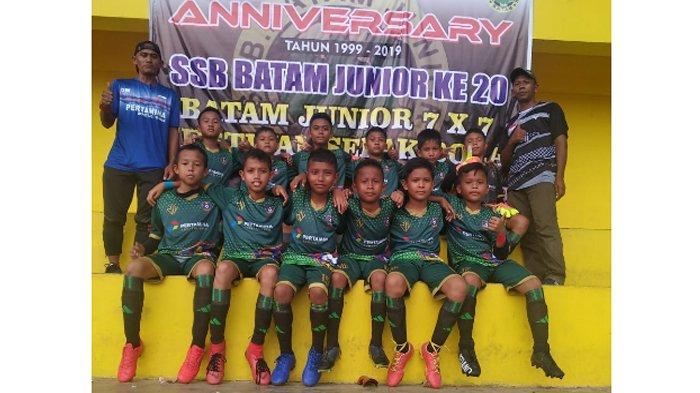 Festival Sepak Bola di Batam, SSB Bina Patra Bintan Rebut Juara 4, Tumbangkan Klub Asal Singapura