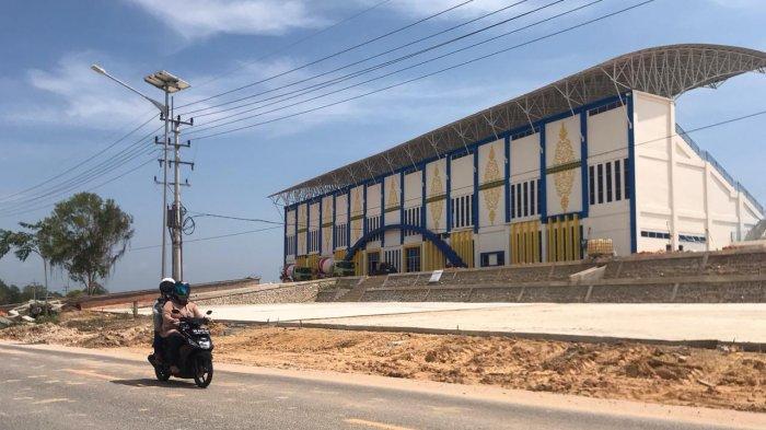 Stadion Sepak Bola Megat Alang Perkasa di Bintan Jadi Tempat Isolasi Pasien Covid-19
