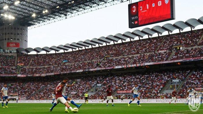 Semifinal Coppa Italia AC Milan vs Juventus, San Siro Pecahkan Rekor, 70 Ribu Tiket Habis Terjual