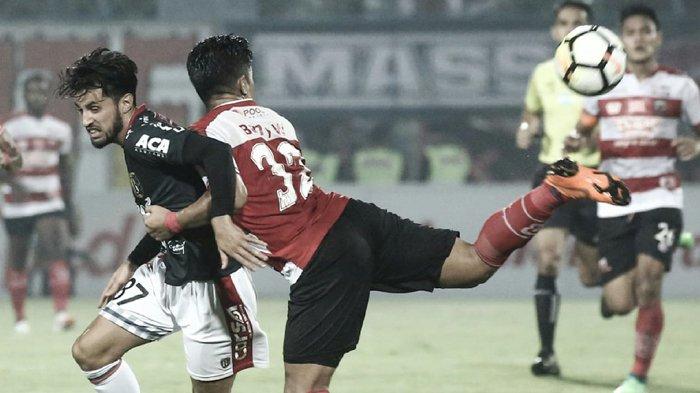Klasemen Liga 1 Usai Madura United Ditahan Imbang Bali United. Persija vs Persebaya Batal Digelar