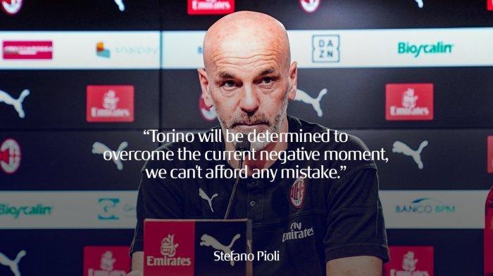 AC Milan vs Torino, Milan Menang, Stefano Pioli Senang: Kinerja Tim Sangat Bagus