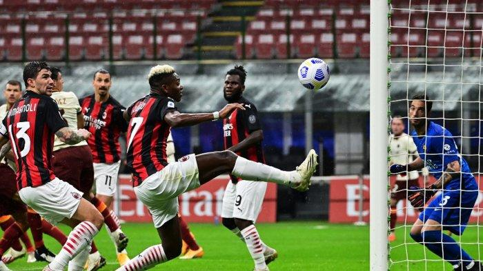 AC Milan Imbang Lawan AS Roma, Rafael Leao: Saya Senang Bagaimana Tim Bermain, Kecewa dengan Hasil