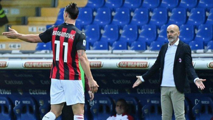 Torino vs AC Milan, Stefano Pioli Siapkan Pemain Pengganti Zlatan Ibrahimovic