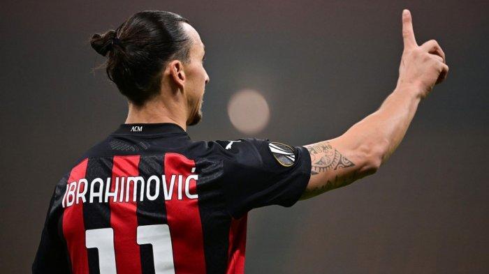 AC Milan Kalah, Ibrahimovic Tunjukkan Reaksi Kecewa, Stefano Pioli: Saya Tak Dengar Ucapan Dia