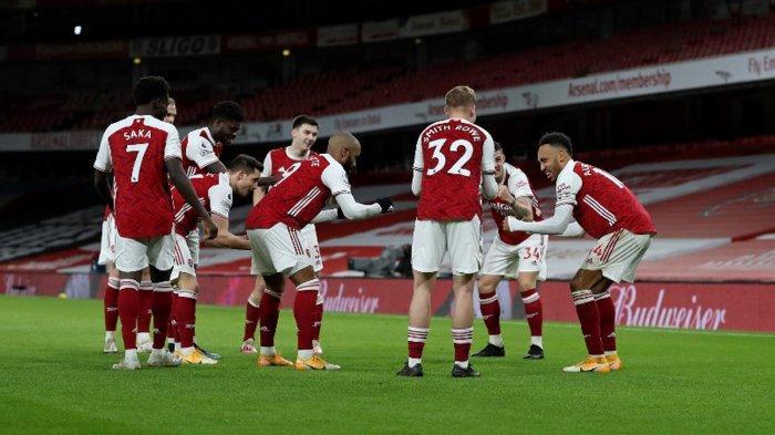 Hasil Liga Inggris - Arsenal Permalukan Newcastle United, Aubameyang Sumbang 1 Gol