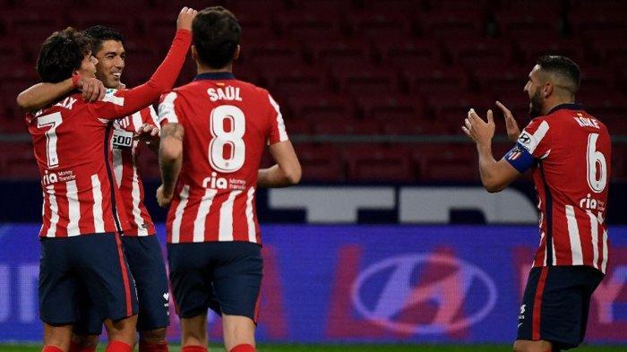Hasil, Klasemen, Top Skor Liga Spanyol Setelah Atletico Madrid, Barcelona Menang, Joao Felix 5 Gol