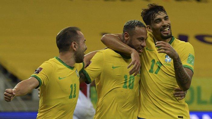Hasil Brazil vs Peru, Everton Ribeiro & Neymar Cetak Gol, Brazil Menang, Masih Sempurna