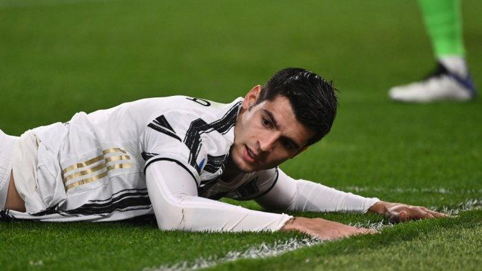 Juventus Imbang Lawan Atalanta, Andrea Pirlo Sorot Aksi Alvaro Morata: Itu Bikin Saya Marah