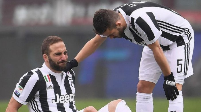 GAWAT! Pemain Juventus Banyak yang Cedera. Hanya 17 Pemain yang Bisa Main