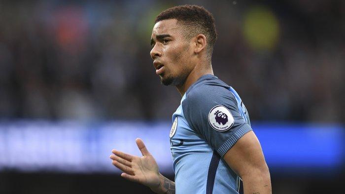 Striker Manchester City asal Brazil Gabriel Jesus