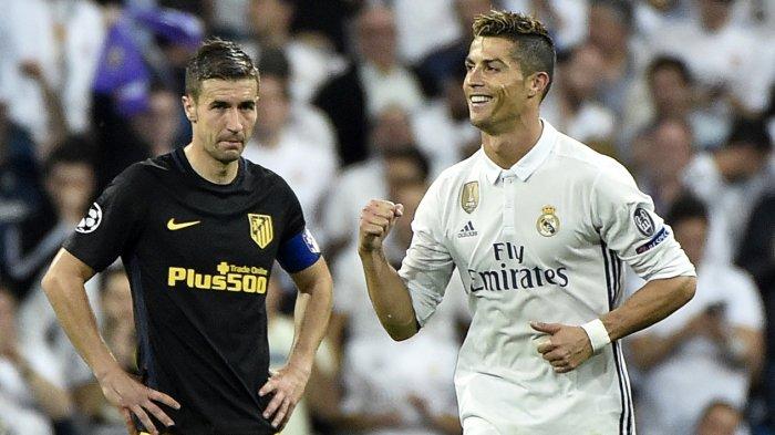 Hattrick Ronaldo, Operan Isco dan Griezmann yang Tak Sentuh Bola di Kotak Penalti Madrid